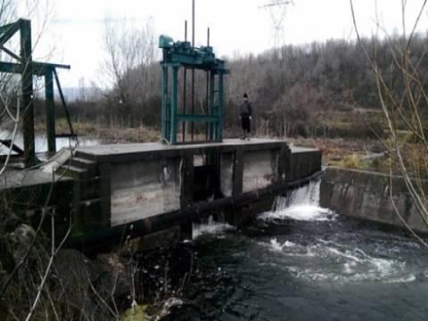 Sapanca Gölü'nde su tahliyesi için kapaklar açıldı!