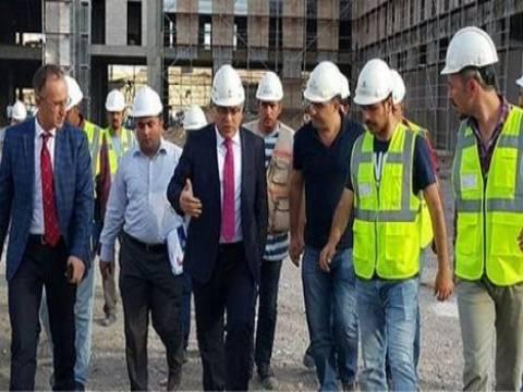 Dede Yıldırım 2. etap TOKİ inşaatını gezdi!