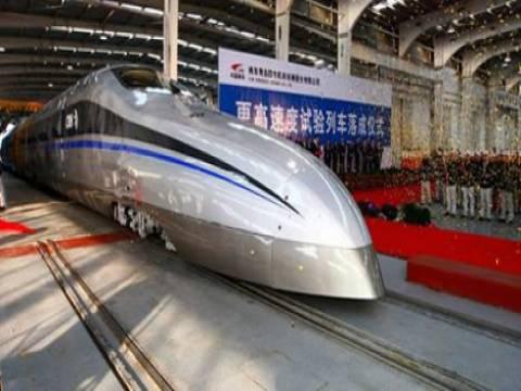 Çin hızlı tren projesi 150 milyar dolara mal olacak!