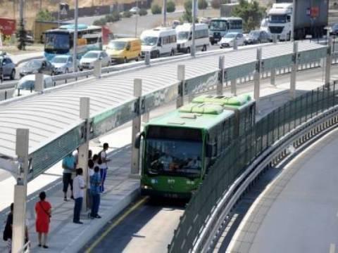 Samsun Metrobüs projesi Haziran 2015'te hizmete açılacak!