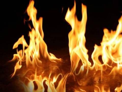 Esenyurt'ta bir karton fabrikasında yangın çıktı!