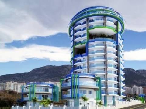 Antalya Hak Rezidans Garden Projesi'nin yüzde 75'i satıldı!