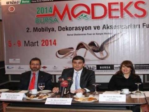 Bursa MODEKS 2014 Fuarı kapılarını 5 Mart'ta açıyor!