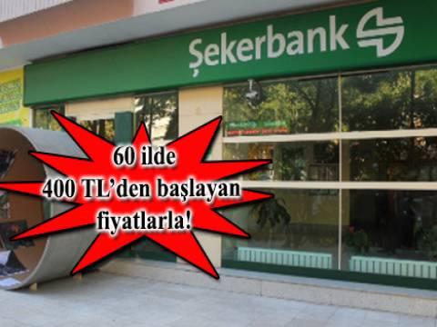 Şekerbank 645 gayrimenkulünü yarın satışa çıkarıyor!